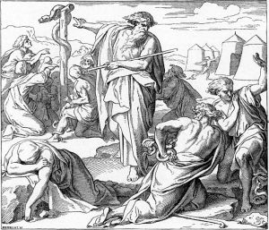 698px-Foster_Bible_Pictures_0079-1_Moses_Pointing_to_a_Great_Snake